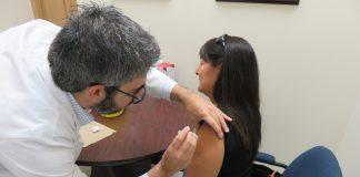 Patient Getting an Immunization