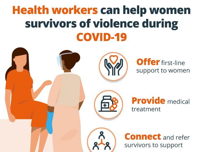 How healthcare workers can help women victims of violence